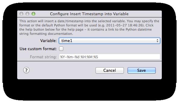 Python Timestamp Format